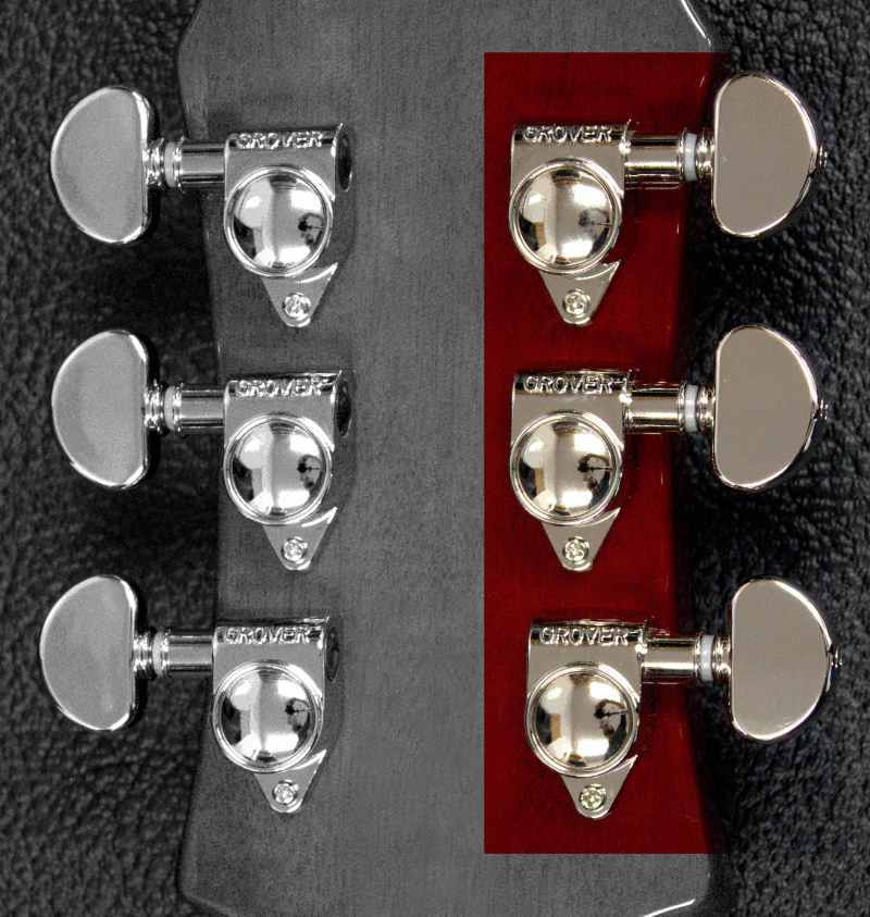 Bass side tuners