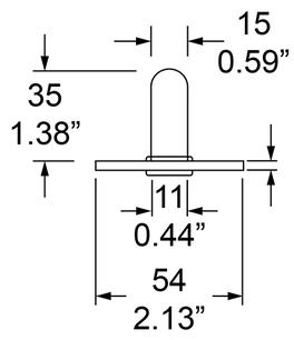 Dimensions for Socket