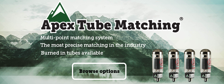 Apex Tube Matching: The most precise matching in the industry