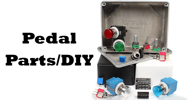 Pedal Parts / DIY category