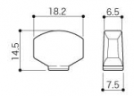 Knob Dimensions for Chrome