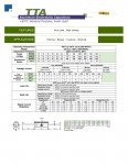 Specification Sheet for 2.2 µF