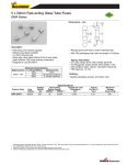 Specification Sheet for 0.5 Amps