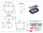 Specification Sheet for Light Grey