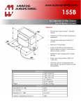 Specification Sheet for 6 mH / 2 A