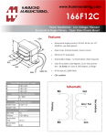 Specification Sheet for 0.35 A