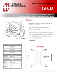 Specification Sheet for 1 A