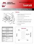 Specification Sheet for 7.56 - 117V primary