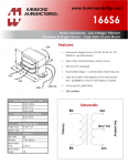 Specification Sheet for 63