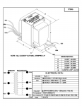 Specification Sheet for 92105 50 W General