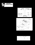 Specification Sheet for 5W | 5k/8kΩ | 4/8Ω