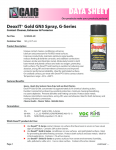 Specification Sheet for Large Spray (5.75oz)