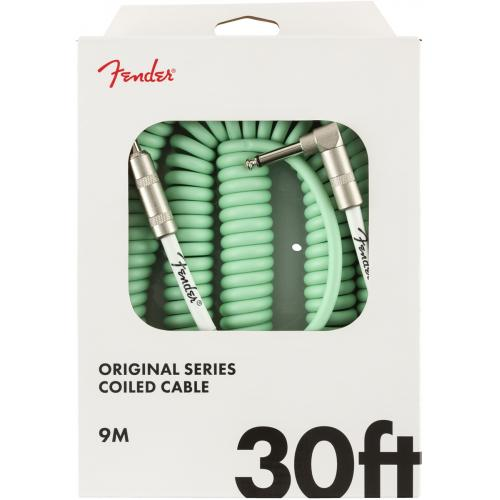 Cable - Fender, Original Series, Instrument, 30' Coiled image 6