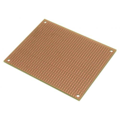 "StripBoard - Single Sided, 3.94"" x 3.15"", Mounting Holes image 3"