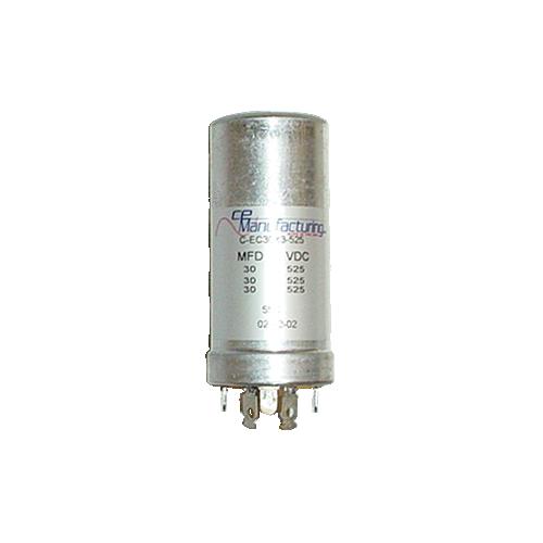 Capacitor - CE Mfg., 525V, 30/30/30 μF image 1