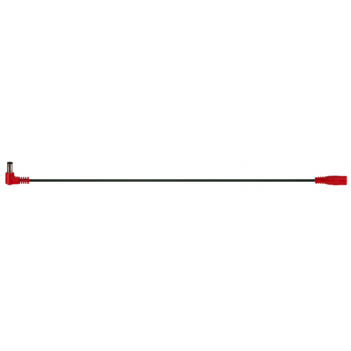Cable - red right-angle reverse-polarity jumper image 2