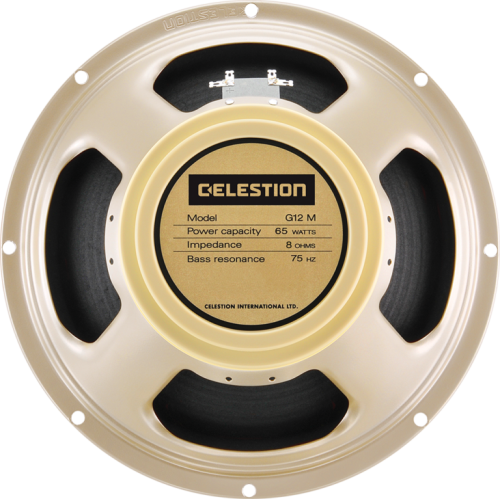 "Speaker - Celestion, 12"", G12M-65 Creamback, 65W image 1"