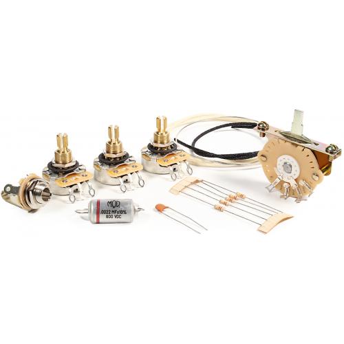 Guitar Wiring Upgrade Kit - Mod® Electronics, 5 Position Stratocaster image 1