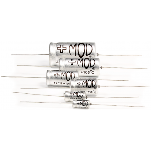 Capacitor - Mod® Electronics, Aluminum Electrolytic, 105°C, Axial Lead image 2