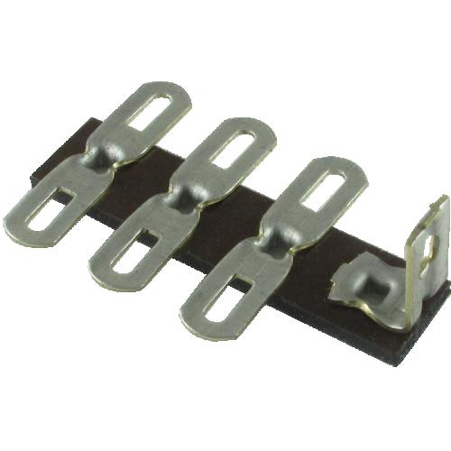Terminal Strip - 3 Lug, 0 Common, Vertical image 2