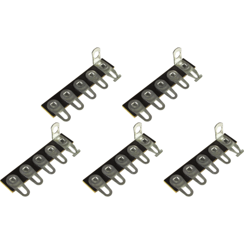 Terminal Strip - 5 Lug, 1st Lug Common, Horizontal, package of 5 image 1