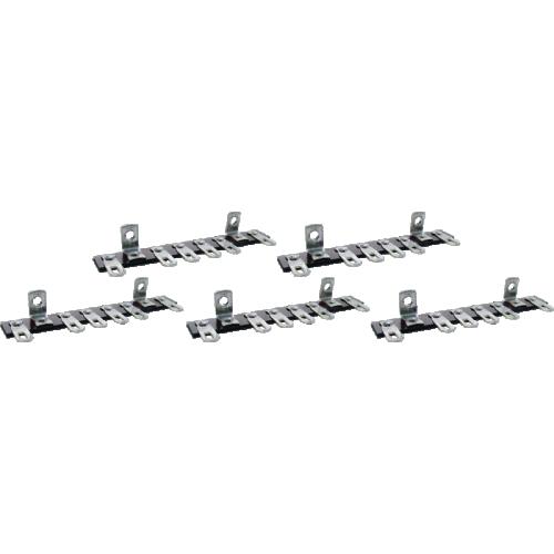 Terminal Strip - 6 Lug, 0 Common, Horizontal image 1