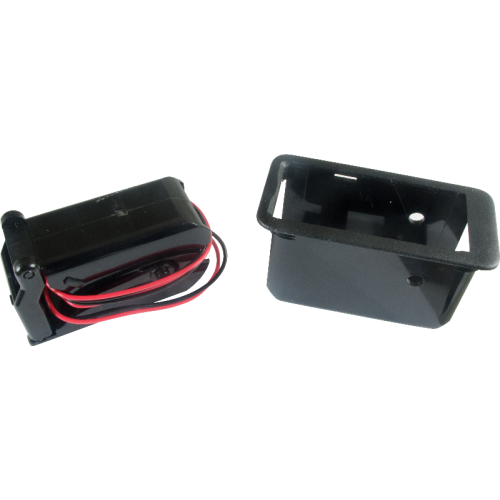 Battery Box - Gotoh, single, 9 volt, with removable adapter image 2