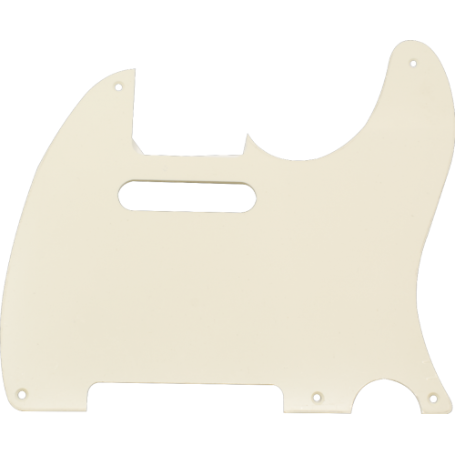 Pickguard - for Tele, 5 Hole, Single Ply image 1