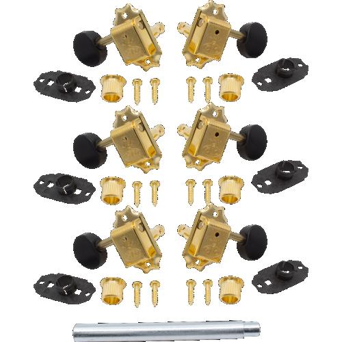 Tuner - Gotoh, SD510, gold, round knobs image 1
