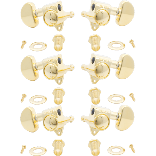 Tuners - Grover, Rotomatic, 3 per side, 18:1 ratio image 5