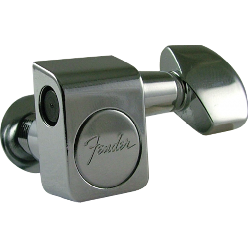 Tuners - Fender®, American series, 6 in a line, chrome image 3
