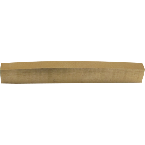 Nut - Brass, for Fender, blank un-slotted image 1