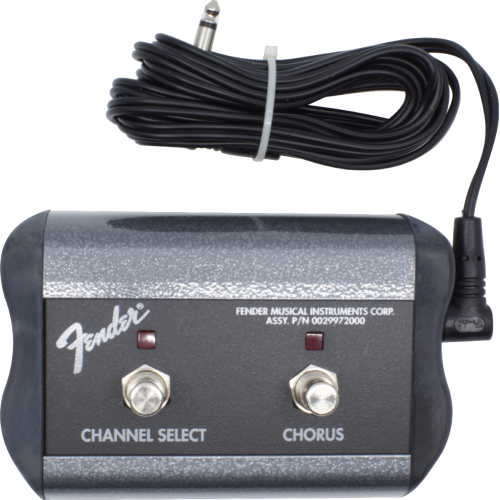 Footswitch Box - Fender, Two Button (Channel, Chorus) image 1