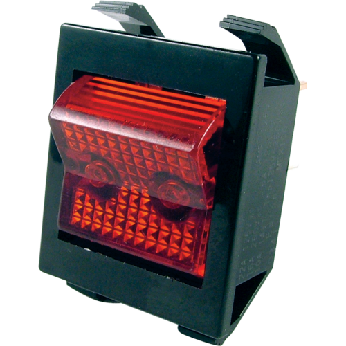 Switch - Rocker, Lighted Power, Used in JCM Series & Others image 1