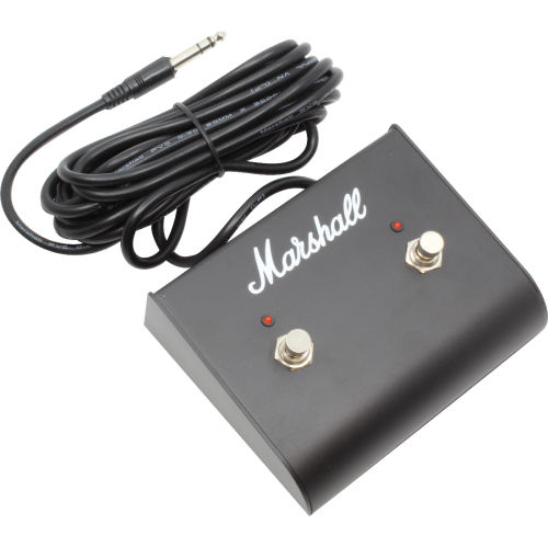 Footswitch Box - Marshall, Two Button w/ LED (Multiple Decals) image 2