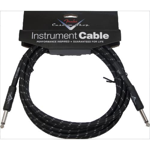 Cable - Original Fender, Custom Shop, Instrument, Black Tweed image 1