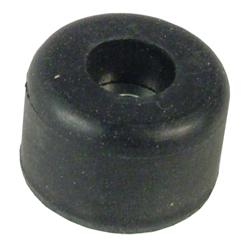 """Foot - Rubber, .875"""" x .53"""", with Metal Washer image 1"""