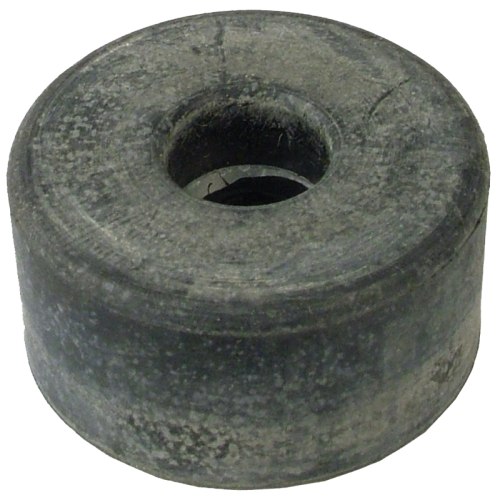 """Foot - Rubber, 1.5"""" x .75"""", with Metal Washer image 1"""