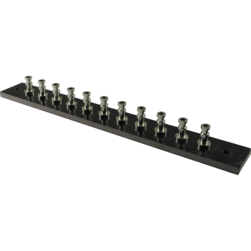 Turret Strip - 127mm x15.875mm, loaded with 11 turrets image 1