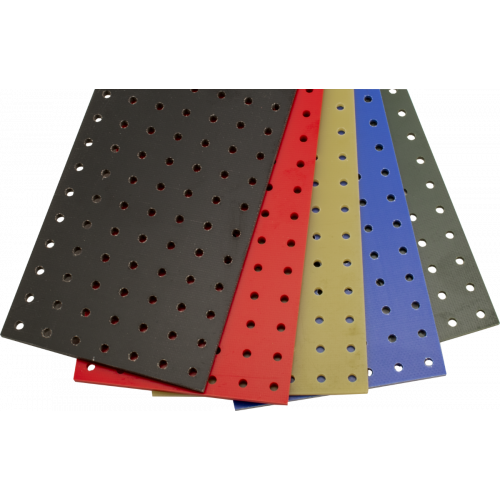 "Turret Board - Blank, 189 Holes, 10-1/8"" x 2-5/8"" image 1"