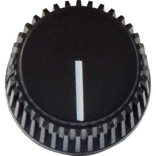 Knob - Ampeg, Classic, D Shaft with indicator line image 2