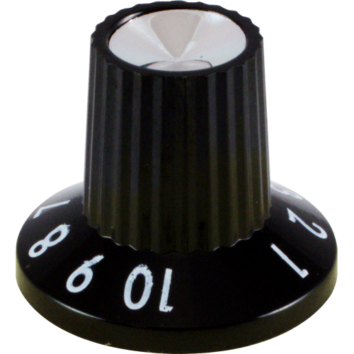 Knob - Fender, Black 1-10, for Princeton 65 DSP image 3