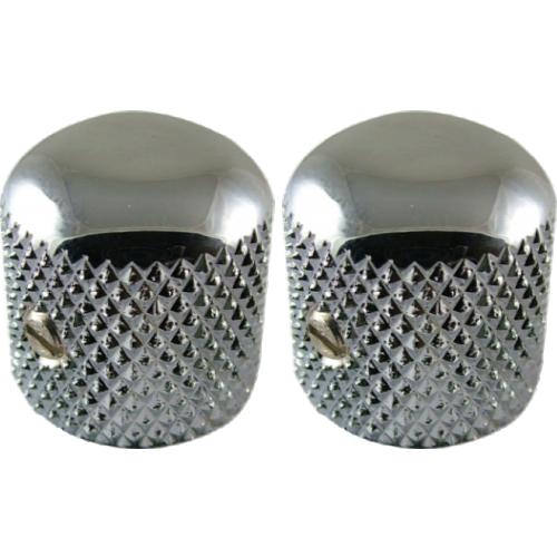 Knobs - Fender®, Telecaster Chrome Dome image 1