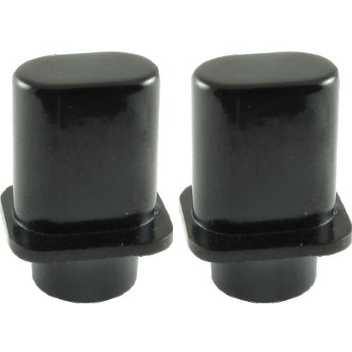 """Switch Tip - Fender®, Telecaster """"Top Hat"""", Black image 1"""