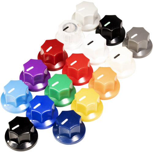 "Knob - Plastic, Set Screw, Small MXR Style, 0.75"" diameter image 1"