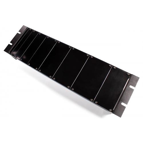Panel - Eurorack Blanks, Reversible Black / Aluminum, 1.6mm image 4