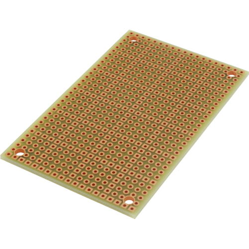 PadBoard - Size 1, Double Sided, Plated Holes image 1