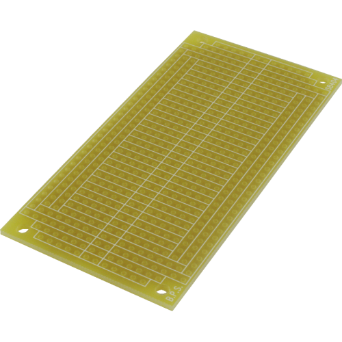 """Breadboard - Solderable PCB, 3.75"""" x 1.85"""", Mounting Holes image 1"""