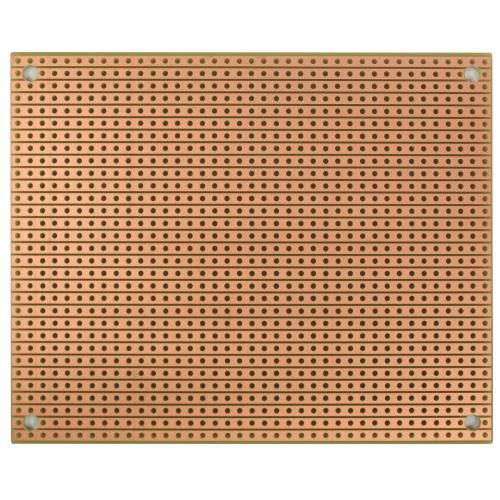 "StripBoard - Single Sided, 3.94"" x 3.15"", Mounting Holes image 1"