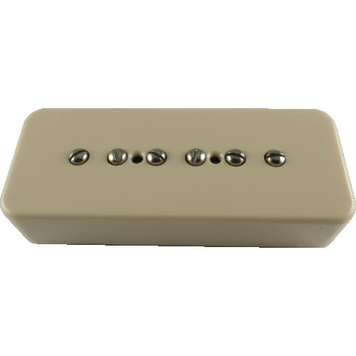 Pickup - Kent Armstrong, Custom Series, Stealth 90 Noiseless, P-90 Bridge, Cream image 1